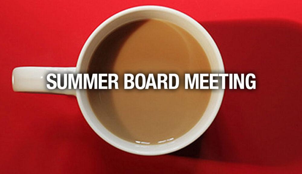 IRCA Summer Board Meeting