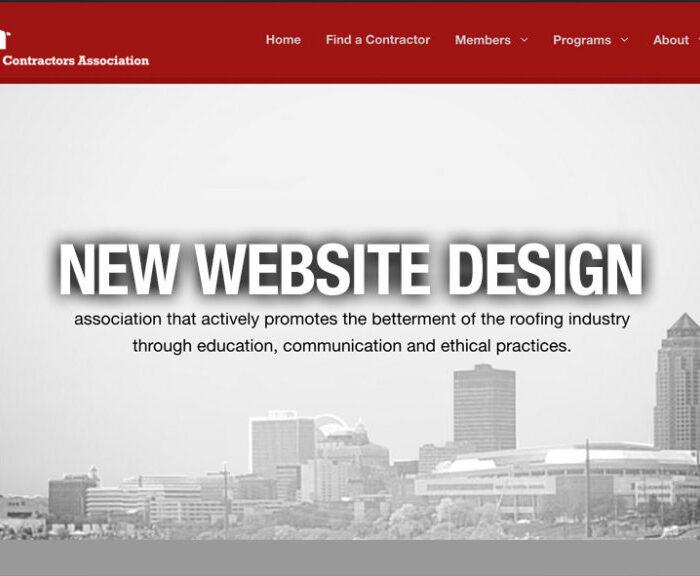 IRCA Website Design